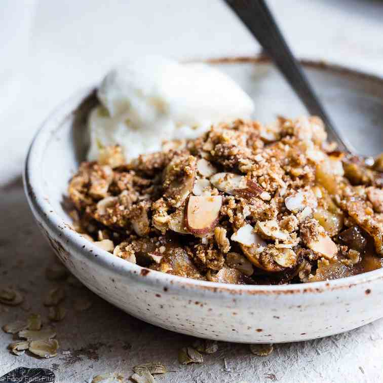 Gluten Free Vegan Apple Crisp
