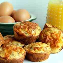 Sausage and Cheese Muffins