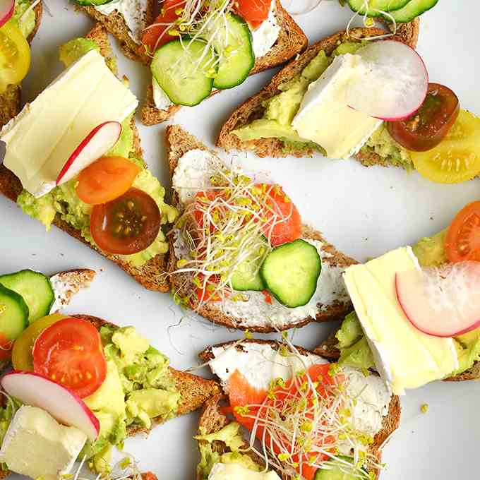 Superfood Toasts