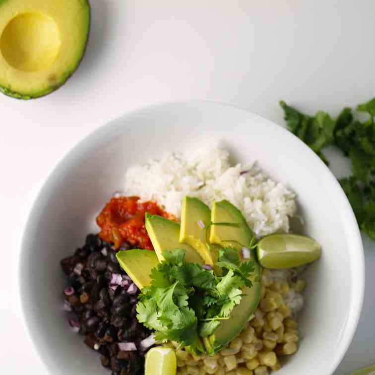 Vegan Burrito Bowl