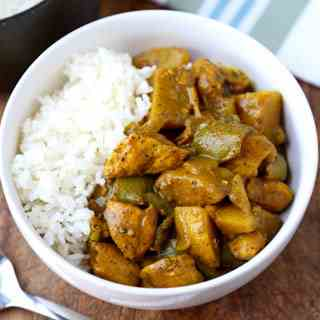 Jamaican curry