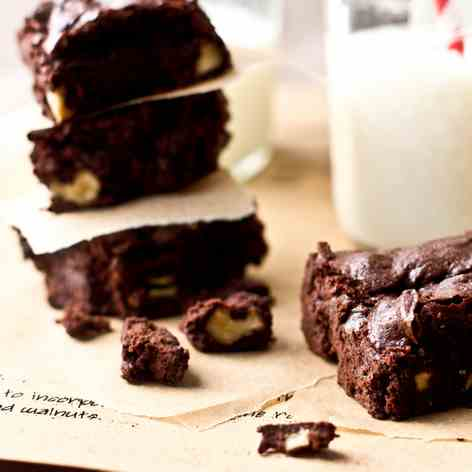 Spicy Chocolate Brownies