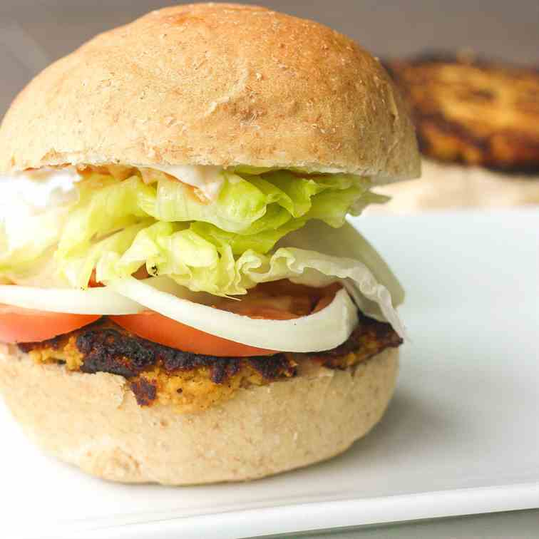 Homemade Veggie Burger Patties