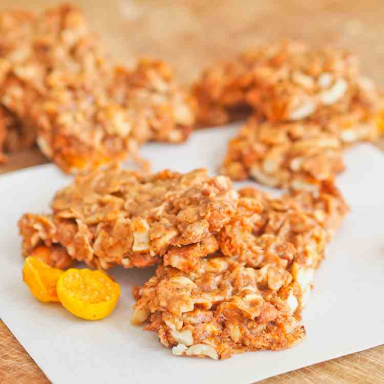GF Golden Berry Granola Bars