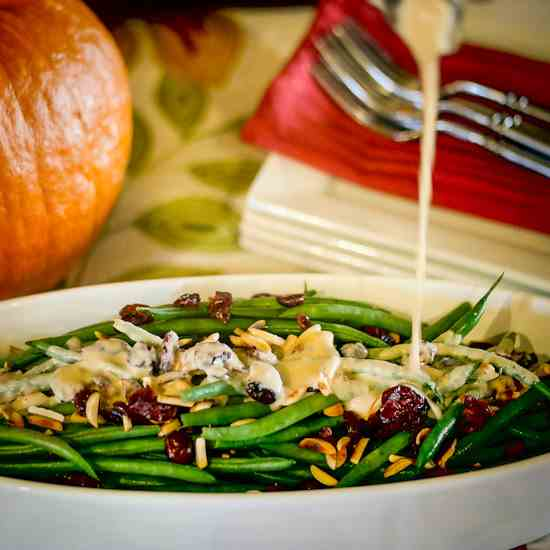 Haricots Verts With Lemon Vinaigrette