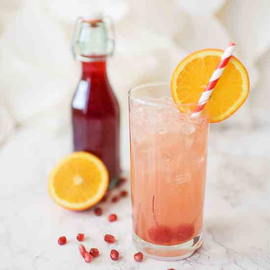 Homemade Grenadine Syrup