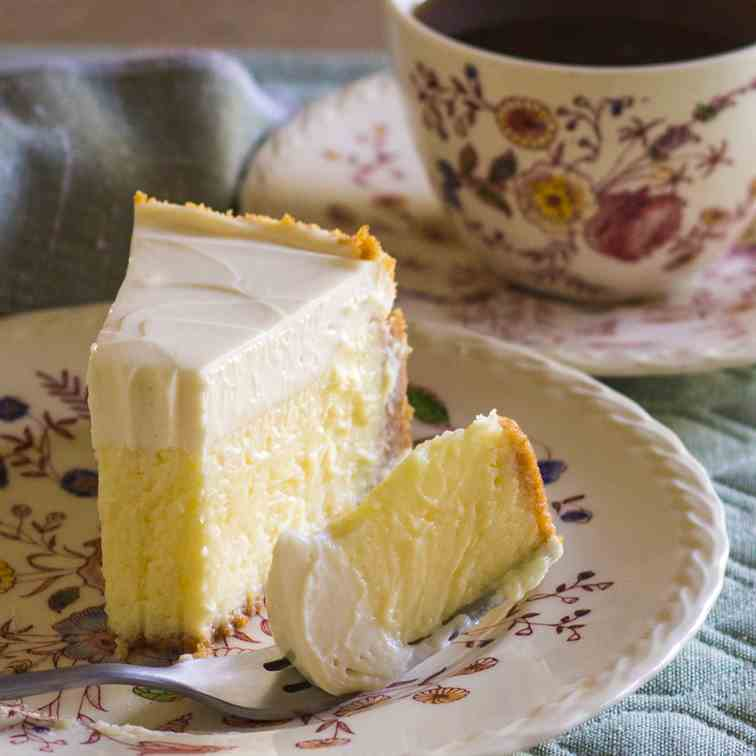New York Cheesecake with Lemon