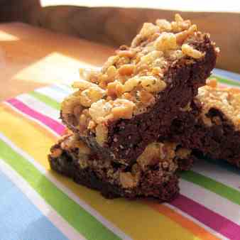 Crunchy Toffee Brownies