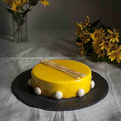 Citrus fruits entremets