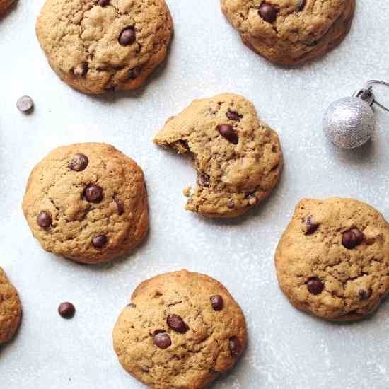 Best Coffee Chocolate Chip Pecan Cookies