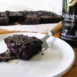 Guinness Bacon Brownies