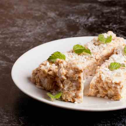 No-Bake Coconut Bars