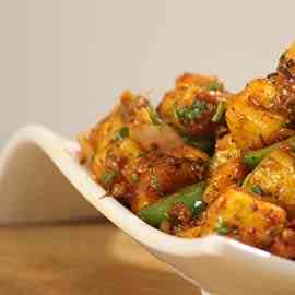 Dragon Paneer Chilli