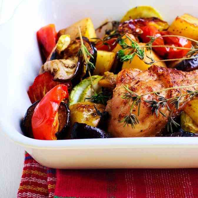 Chicken - Vegetables In The Slow Cooker