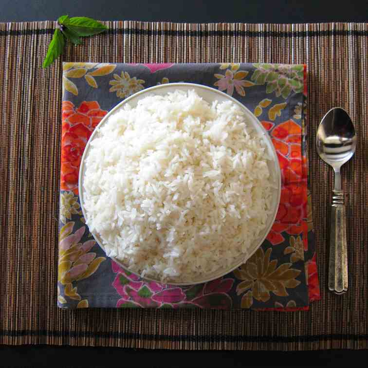 Fragrant Instant Pot Jasmine Rice