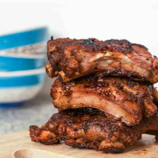 Chipotle Pork Short Ribs with Honey