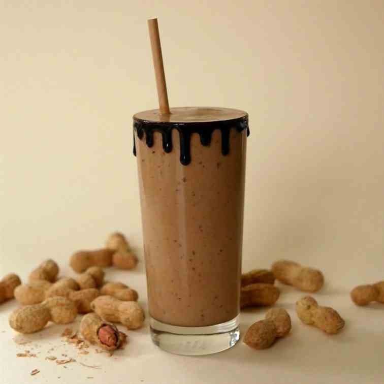 Peanut Butter - Chocolate Smoothie