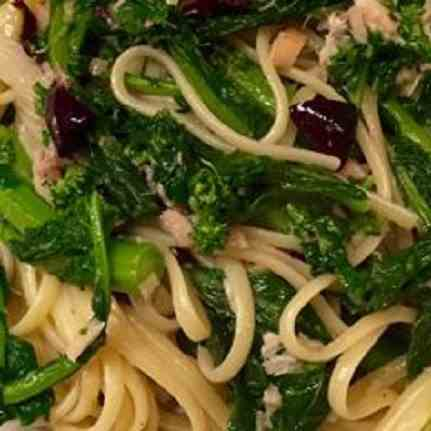 Pasta with Broccoli Raab and Olives