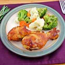 Apple Butter Roasted Chicken