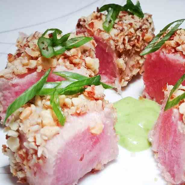 Almond Crusted Tuna