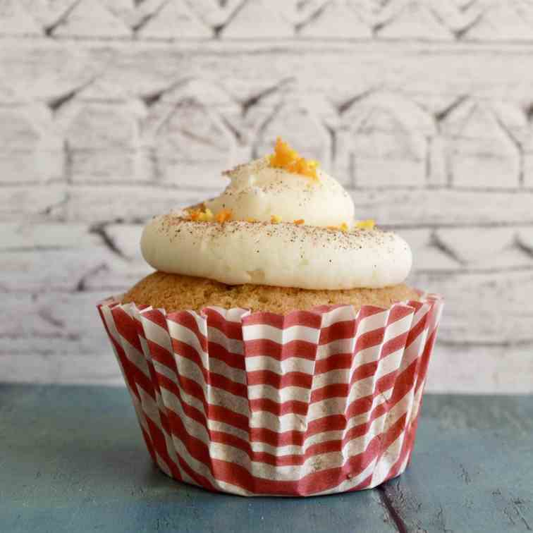 Orange Spiced Cupcakes