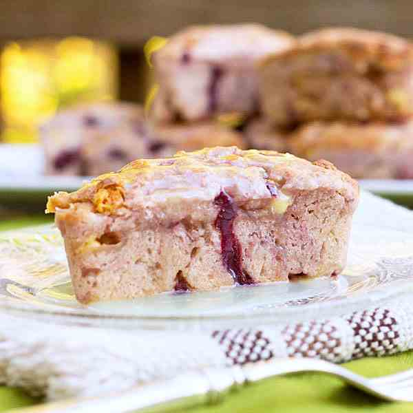 Cherry Almond Chocolate Scones