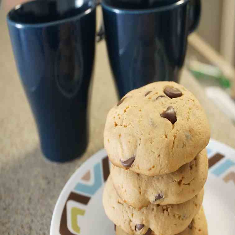 Classic Chocolate Chip Whole Wheat Cookies