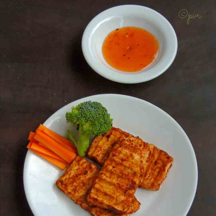 Grilled Tofu Steak