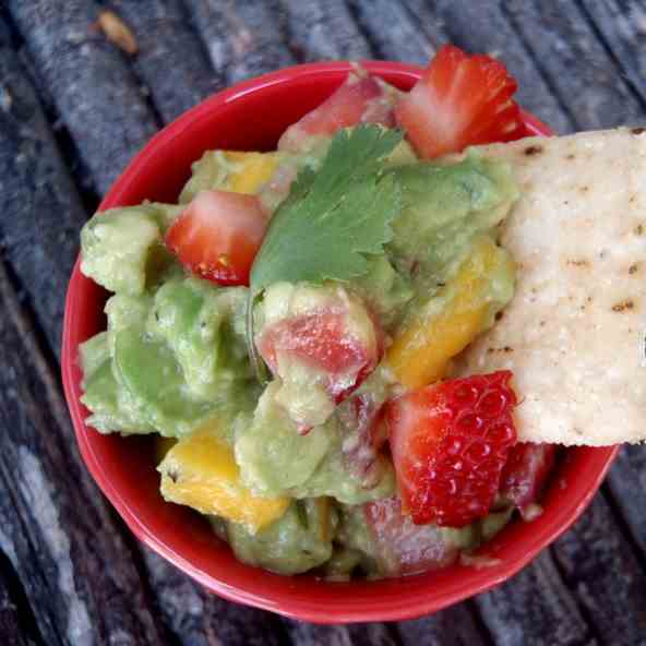 Strawberry Mango Guacamole