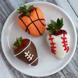 Sport's Dipped Strawberries
