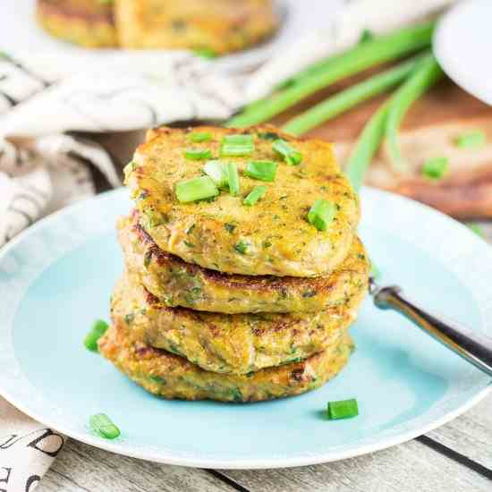 Sweet Potato Patties with Tuna