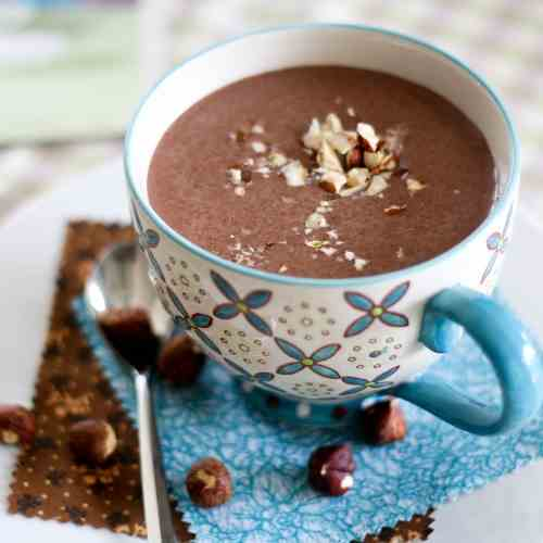 Chocolate Hazelnut Morning Smoothie