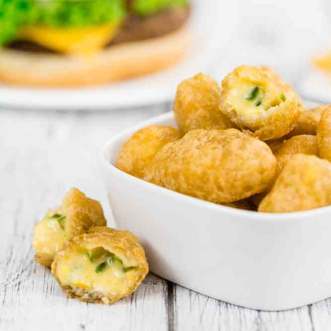 Airfryer Cheese - Onion Nuggets