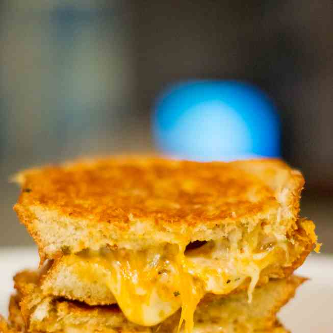 Almost-Perfect Grilled Cheese Sandwich