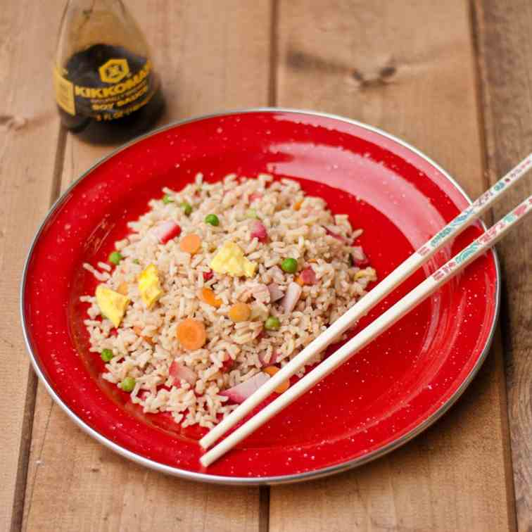 Dutch Oven Fried Rice