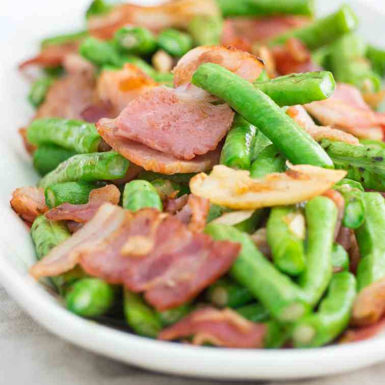 Keto-Friendly Stir Fried Yardlong Beans