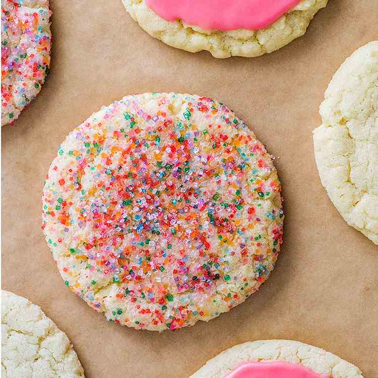 One-bowl Small-batch Sugar Cookies (3 Ways