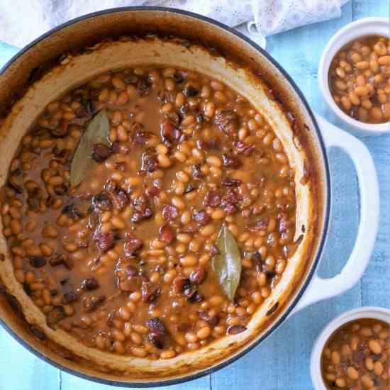 Maple, Bourbon - Brown Sugar Baked Beans