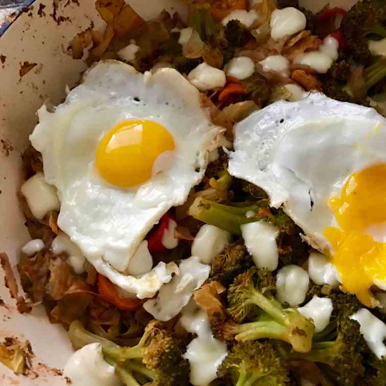 Spicy Cabbage Hash