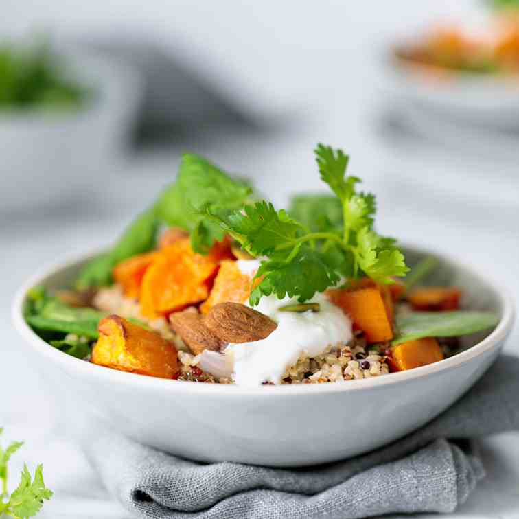 Roasted Sweet Potato - Ancient Grain Salad
