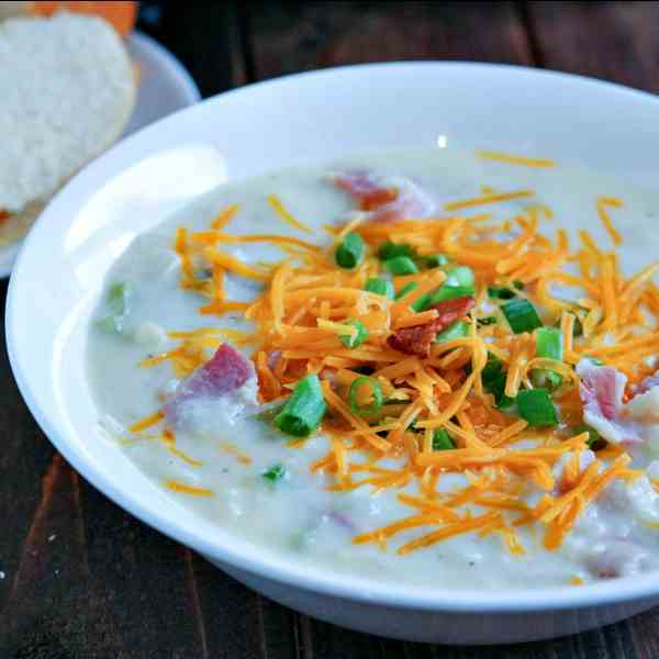 Chunky Loaded Baked Potato Soup