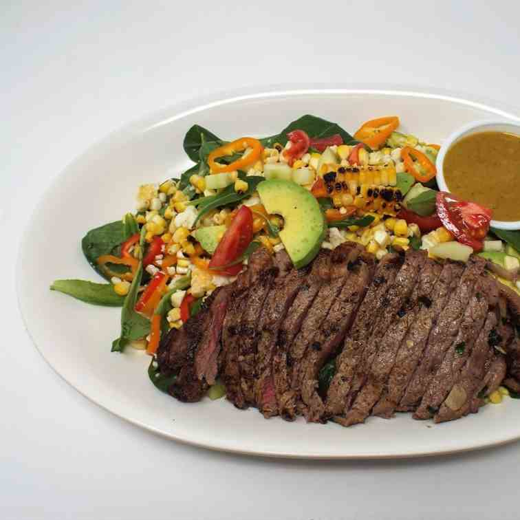 South of the Border Steak Salad