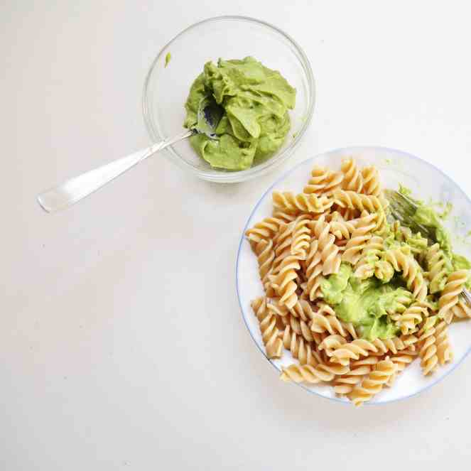 3-Ingredient Avocado Pasta Sauce