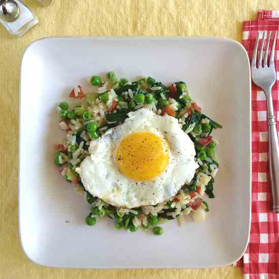 Bacon - Egg Fried Rice