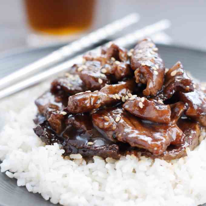 Better Than Takeout Mongolian Beef
