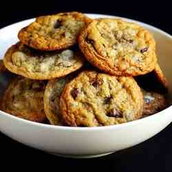 Salted Choc Chip Cookies