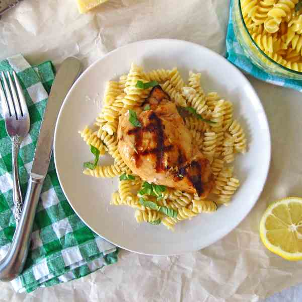 Lemon and Basil Grilled Chicken