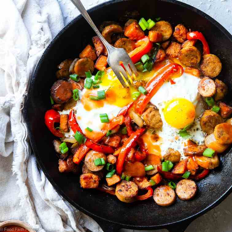 Whole30 Buffalo Chicken Hash