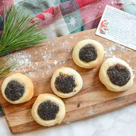 Kolache with Poppy Seed Filling