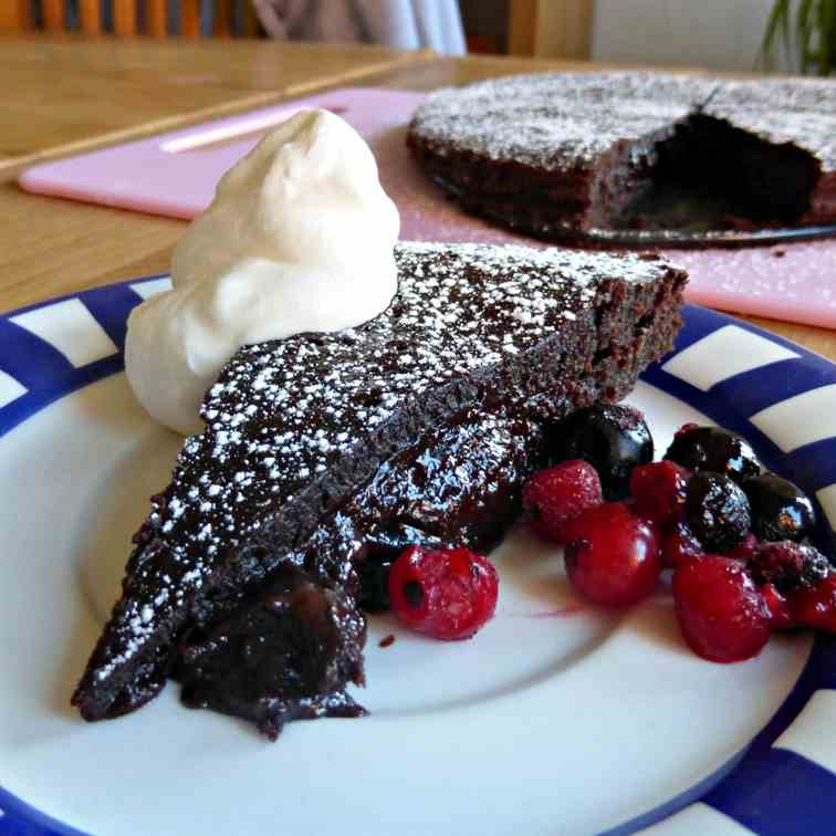 Dark Chocolate Kladdkaka
